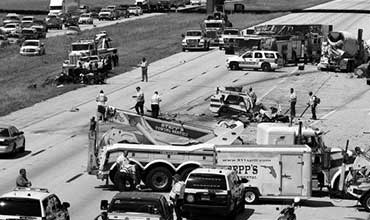 Accidents on Interstate 4